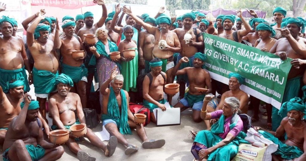 TN Farmers' Agitation
