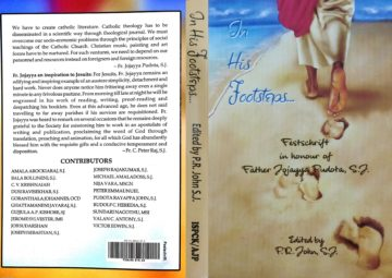 In His Footsteps - Edited By Fr. P.R. John SJ