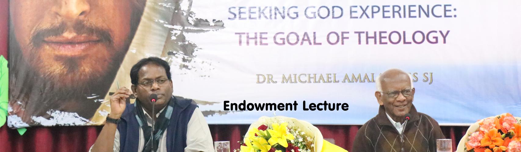 Endowment Lecture
